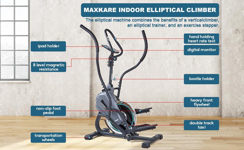 Elliptical Climber Exercise Trainer Machines