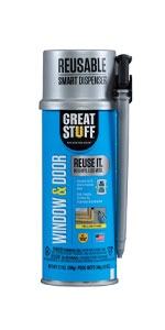 Seal any openings around windows and doors for up to 30 days.