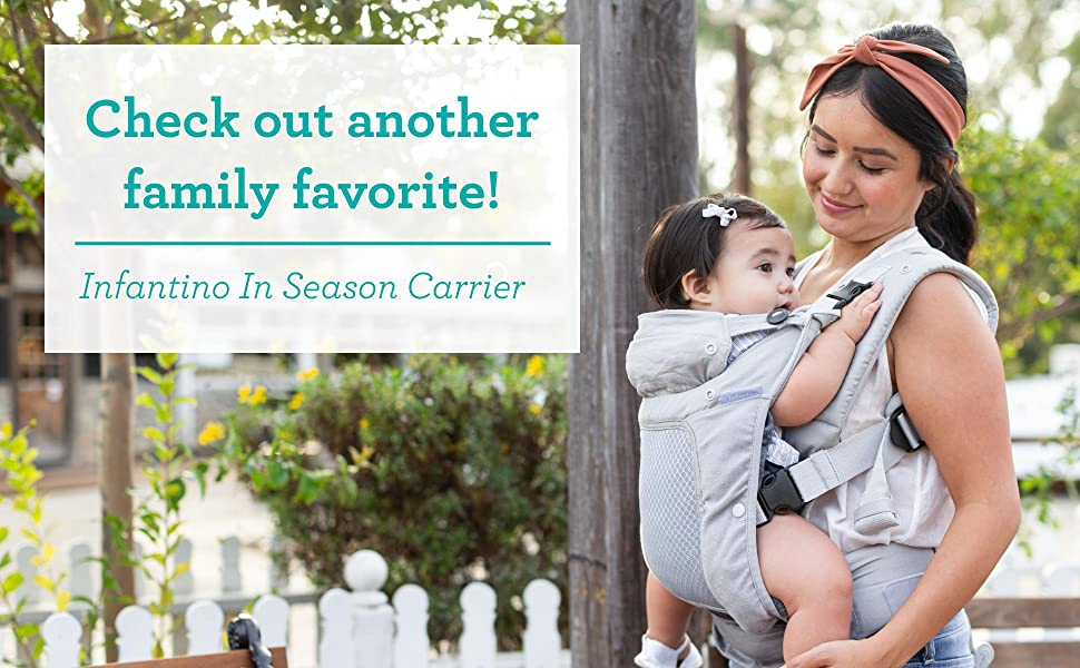 Check out another family favorite: the Infantino In Season Carrier