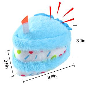 dog birthday cake toy
