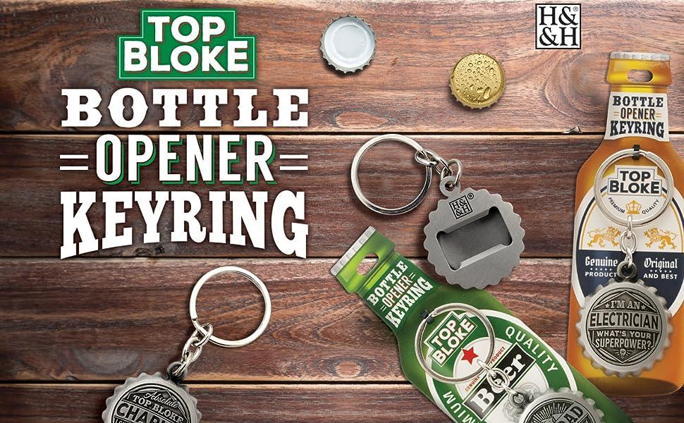 Party Legende Schlüsselanhänger Flaschen Echter Kerl Flaschen Öffner Anhänger