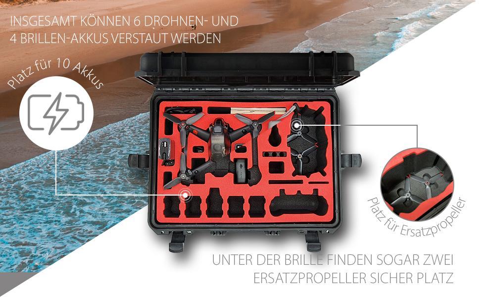 Transportkoffer Explorer Edition für DJI FPV