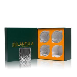 Whiskey glass gift set