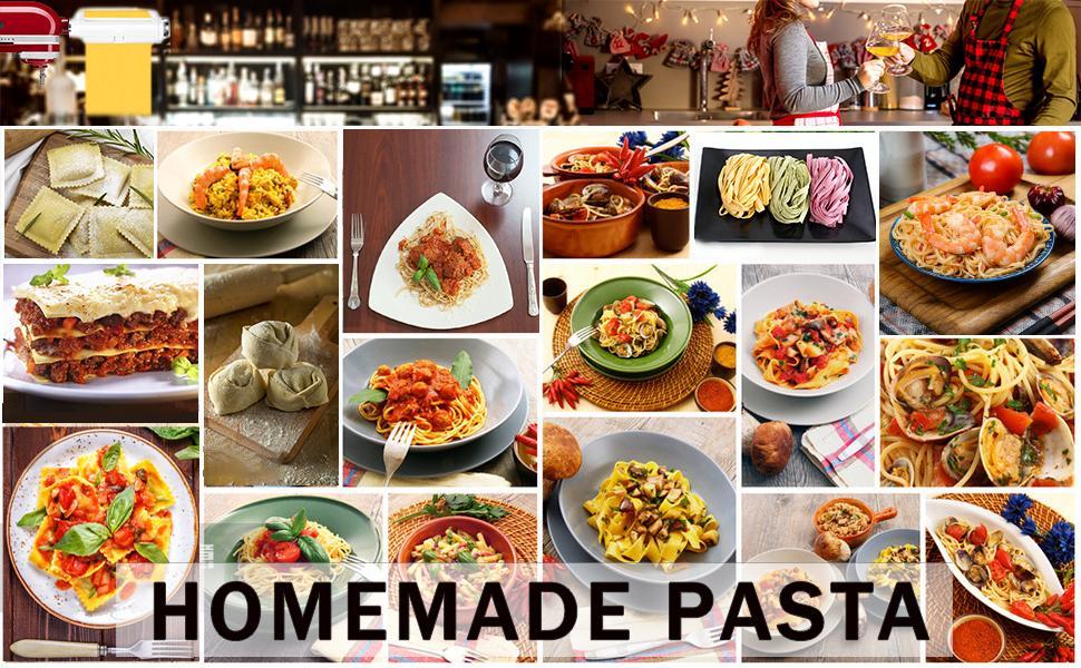 pasta attachmets kitchenaid