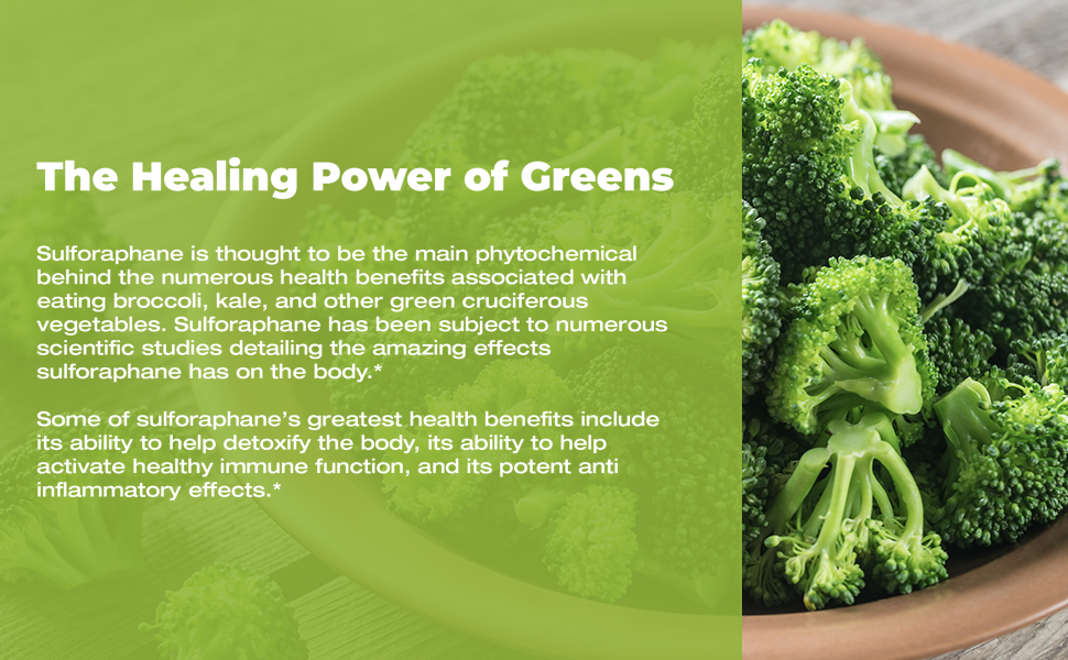 Lactoferrin - The healing power of greens
