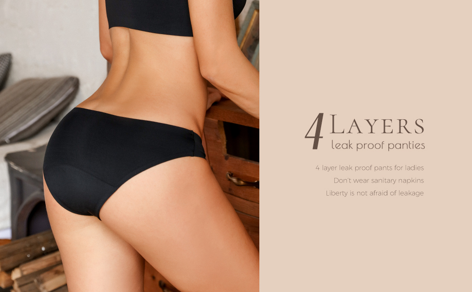period underwear for women teen lady daily used panties cut seamless