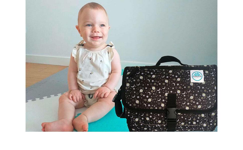 Mauna Baby Portable Changing Pad