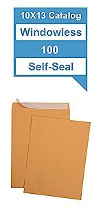 10x13 Kraft Catalog Envelopes