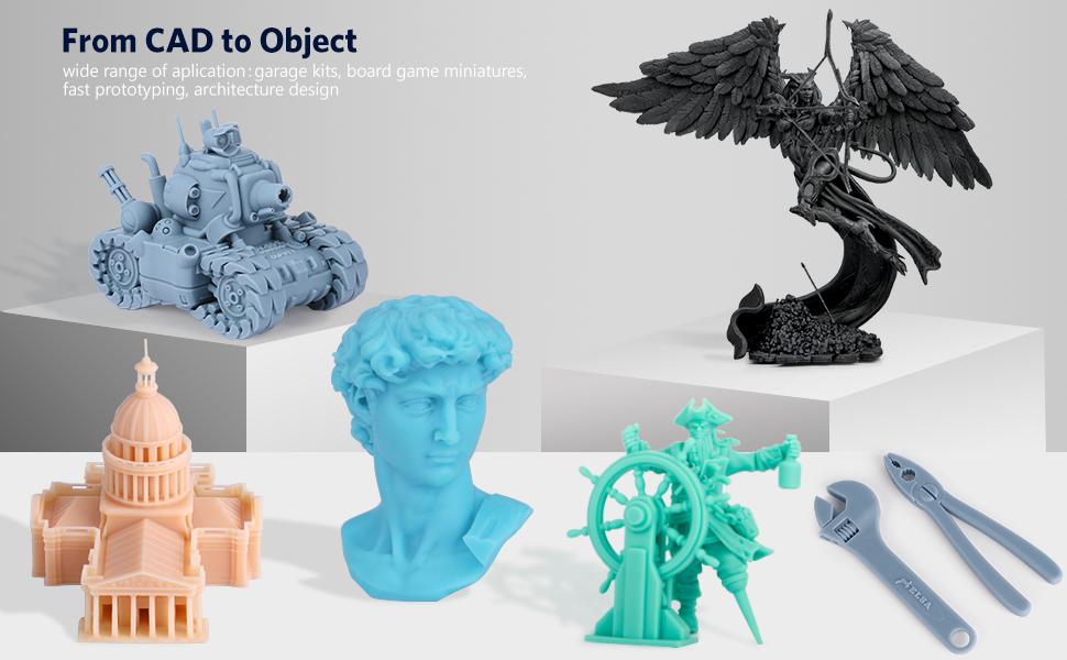 ELEGOO SATURN RESIN 3D PRINTER MODELS