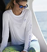 Guy Harvey Women's Core Solid Long Sleeve Sun Protection Top