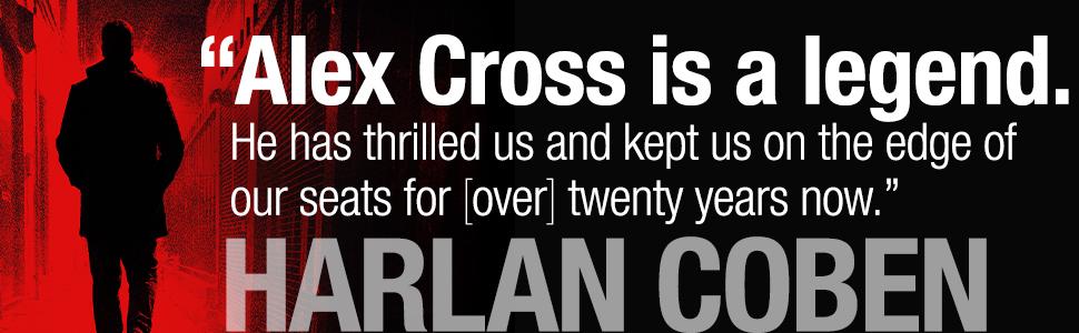 Harlan Coben quote about Alex Cross