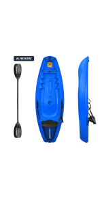 kayak youth kayak with paddle sit in youth kayaks for kids adults youth kayak with paddle blue pink