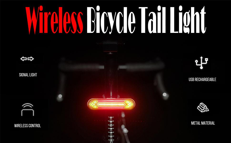 rechargeable bike light
