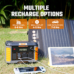 power source for camping