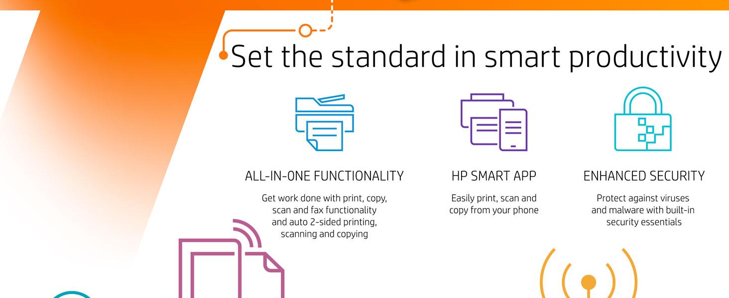 Wireless printer, All in one, Inkjet, Printer scanner, Wifi printer, ojp 9015e, Instant Ink, HP+