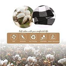 Rug made of soft cotton