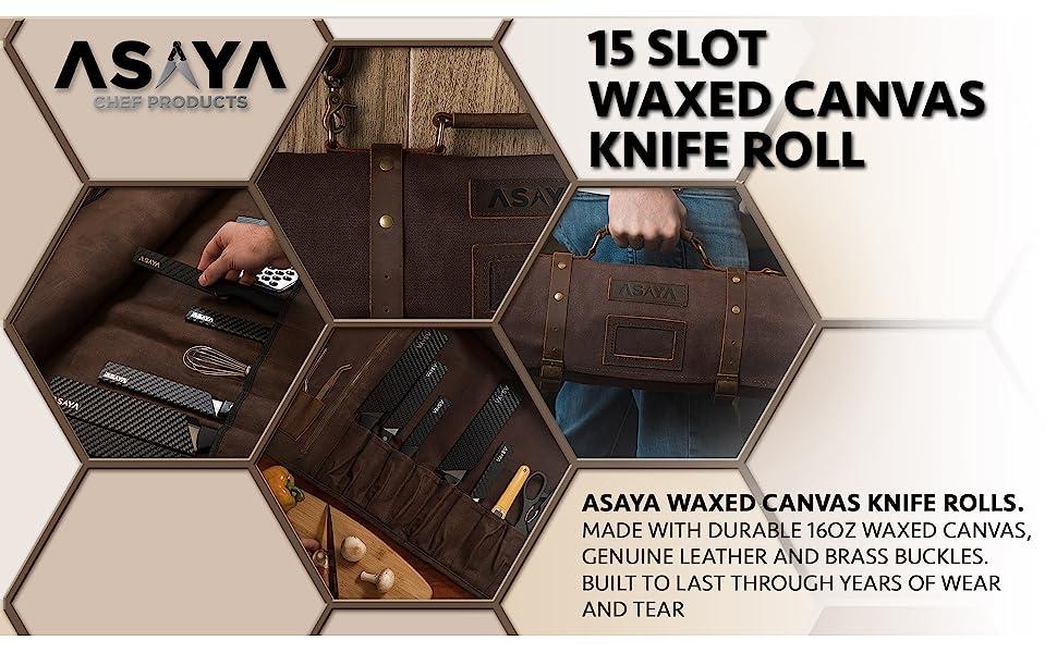 15 Slot Knife Roll