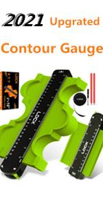 Contour Gauge Profile Tool Adjustable-Lock