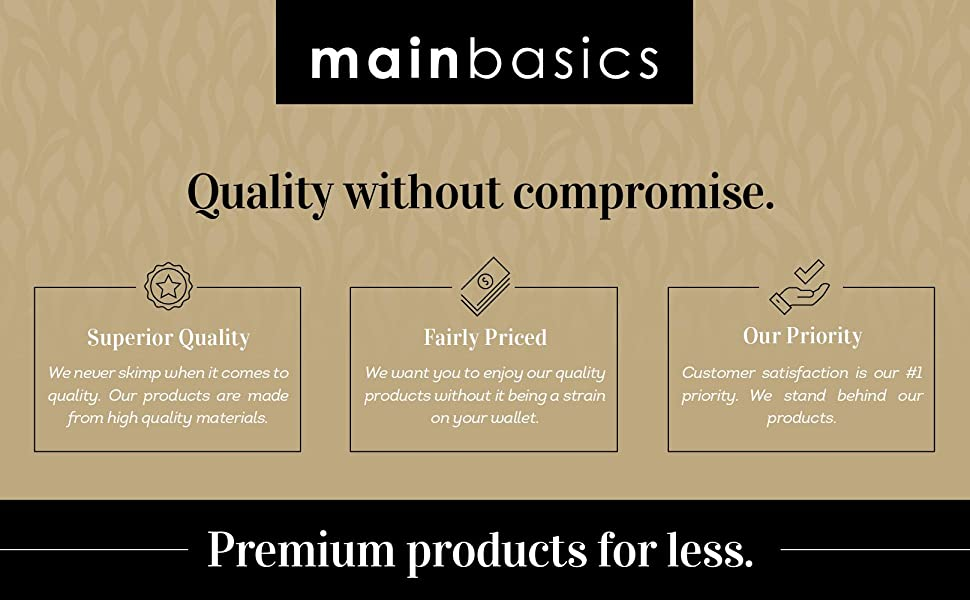 Quality without compromise.