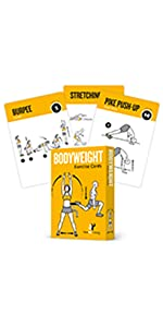 NewMe Fitness Bodyweight Exercise Cards