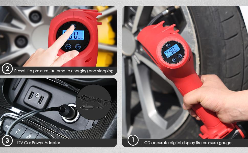 Advantages of 130PSI Tire Inflator