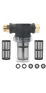 Pressure Washer Inlet Filter