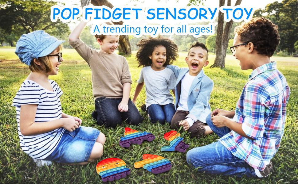 pop fidget sensory toy