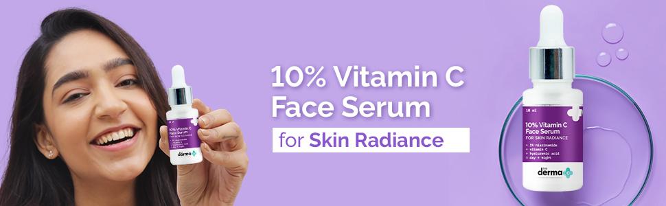 10% Vitamin C Face Serum For Skin Radiance - 10ml