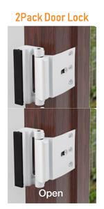 2pack door security lock