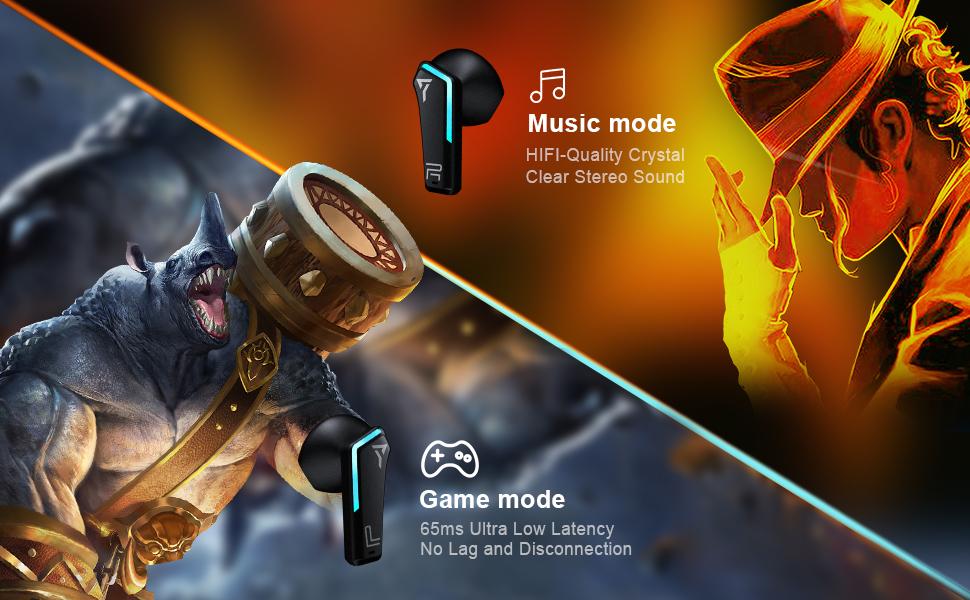 Game mode & Music mode