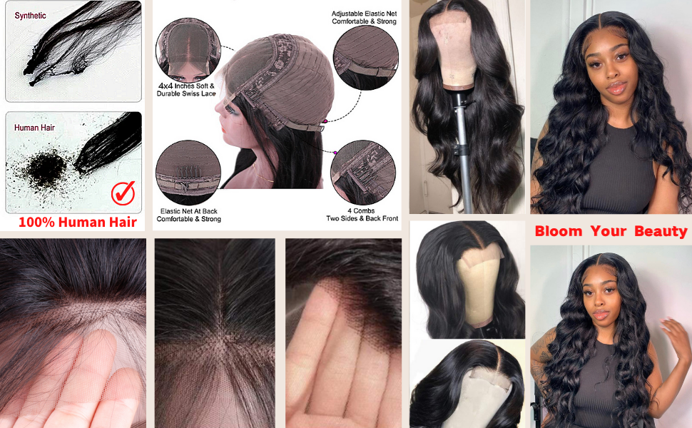 Bloom your beauty with 100% human hair wig