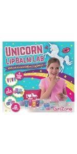 set haz tu propio balsamo labial unicornio regalo regalos niña niñas chica chicas