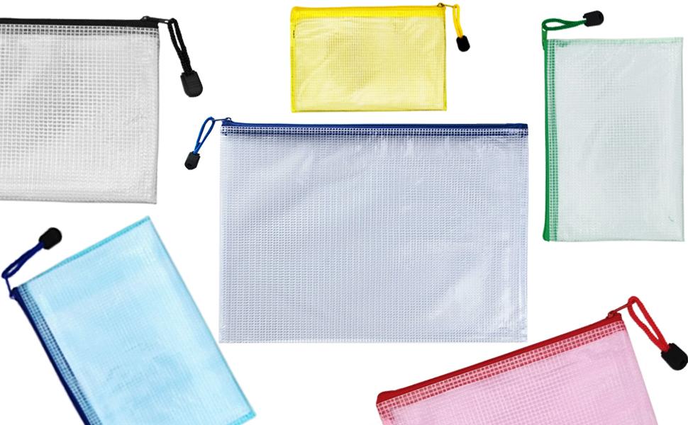 zipper file bags