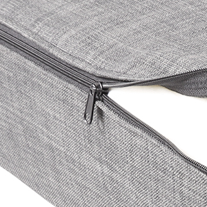 sofa couch with zipper