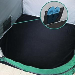 shower tent floor