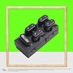 Master Control Power Window Switch Front Left Driver Side