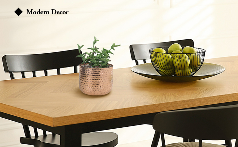 outdoor indoor planters flower pots floor plant metal round