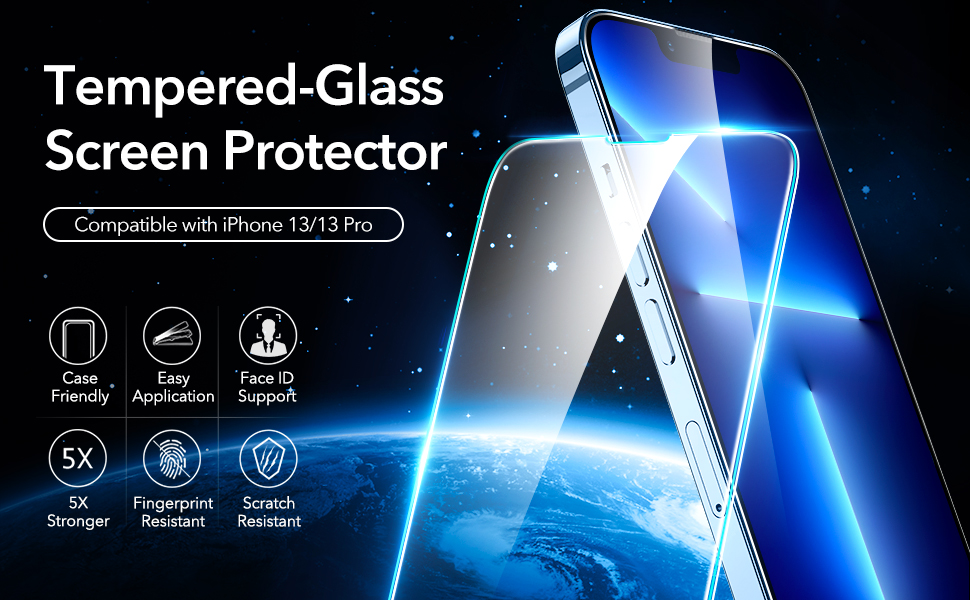 iphone 13 screen protector, iphone 13 pro screen protector