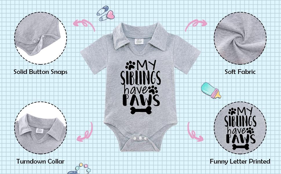Infant Baby Summer Romper 6-9 Months Baby Girls Boys Onesie 12 Months Newborn Baby Onesie Romper