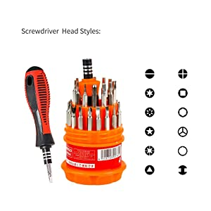 travel screwdriver set,with case,precision,specialty types