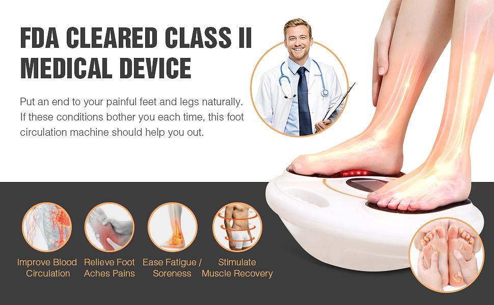 foot circulation massager