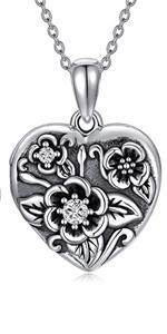 flower locket