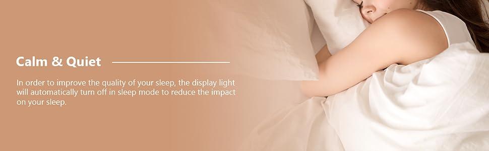quiet sleep mode reduce the impact on your sleep