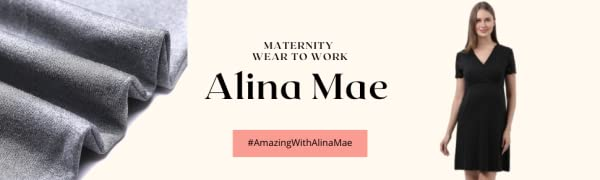 Alina Mae Maternity Office Wear to Work