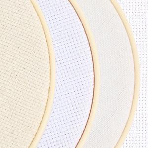 cross stitch plastic hoop