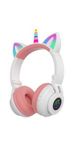 unicorn headphones kids
