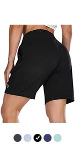 baleaf womens casual jersey shorts
