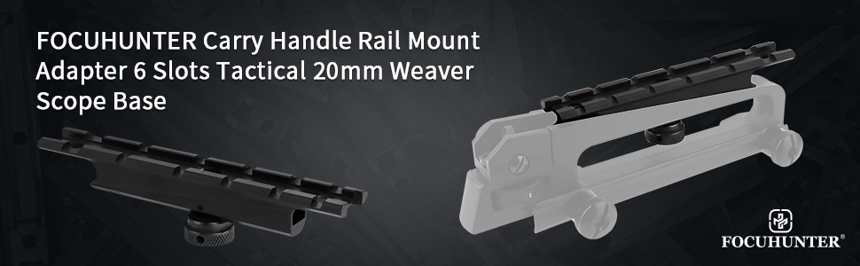 carry handle rail mount