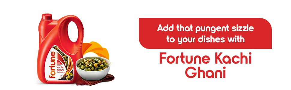 Add that pungent sizzle to your dishes with Fortune Kachi Ghani