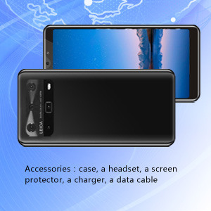 Accessories:case, a headset, a screen protector, a charger, a data cable
